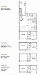 Mayfair modern Floor plan type A1