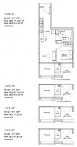 Mayfair modern Floor plan type A2