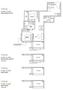 Mayfair modern Floor plan type B2